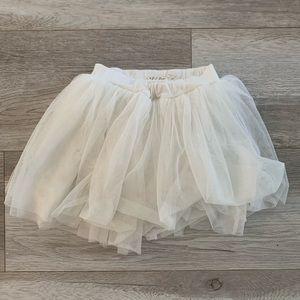 Lil Lemons Skort toddler white 18-24mos